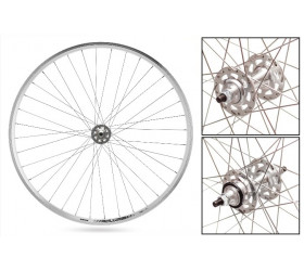 LP22 Fixie Wheelset - Silver