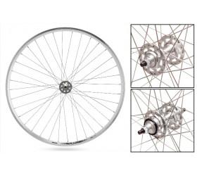 Par de rodas Weinmann LP18  (Cromadas)