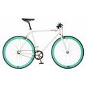 Fixie Bike White/Celeste