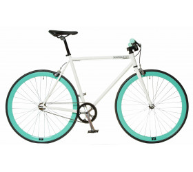 Fixie Bike White/Celeste