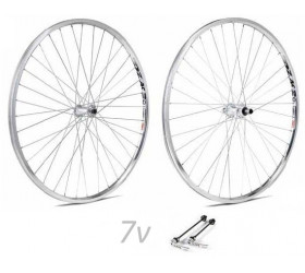 "Wheelset Weinmann 519 w/Coaster Brake (28"") - Chrome"