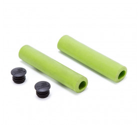 Ozone Silicone Grips - Green