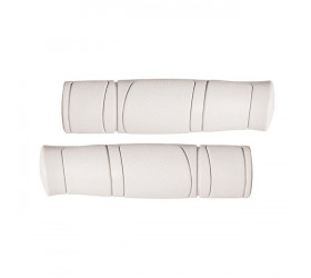 Rubber Classic Grips - White