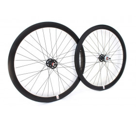 Fixie Wheelset Weinmann G42 - Black