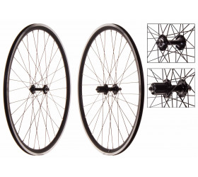 Wheelset Fixie Weinmann DP18 Black (CNC)