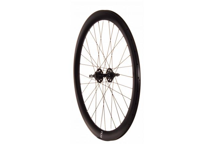 Matte Black Fixie Front Wheel