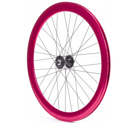 Fixie Front Wheel P50 - ADZ Red