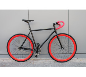 BiURBAN Fixie Black & Red 2