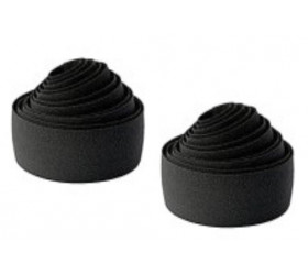 V Ribbon Bar Tape - Black