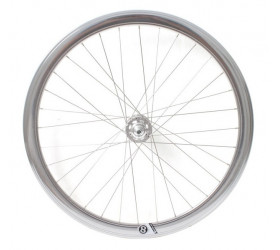 Fixie Front Wheel Origin8 - Silver
