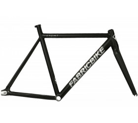 FabricBike Light Black Frameset Polished Silver