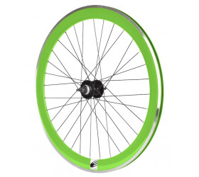 Fixie Rear Wheel Ozone CNC - Green