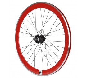 Fixie Rear Wheel Ozone CNC - Red