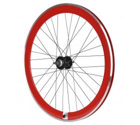 Roda de Trás Fixie Ozone CNC - Vermelho