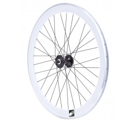 Roda da Frente Fixie Ozone CNC - Branco