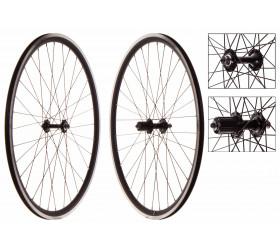Wheelset Fixie Weinmann DP18 Black (CNC)