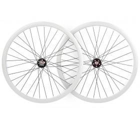 Wheelset Fixie DP18 - White