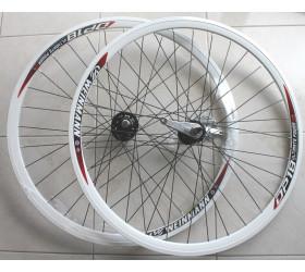 Coaster Brake Wheelset  Weinmann DP18  - White