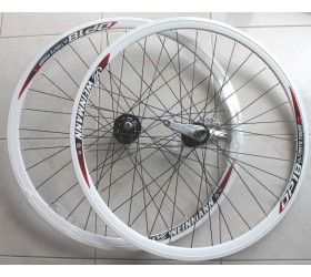 Wheelset  w/Coaster Brake Weinmann DP18  - White