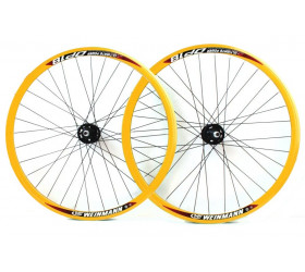 Wheelset Fixie DP18 - Yellow