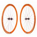 Wheelset Fixie P40 CNC - Orange