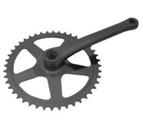 Prowheel 42T Black Crankset