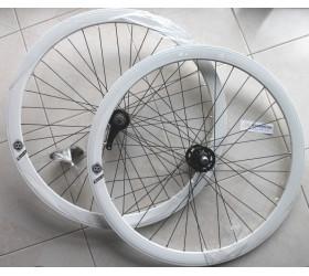 Wheelset Coaster Brake Origin8 - White