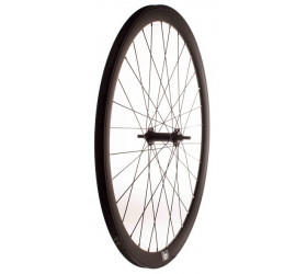 Matte Black Fixie Front Wheel