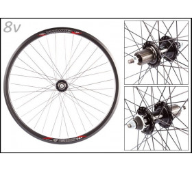 "Weinmann Manuka 8s with Disc Hub Wheelset (28"")"