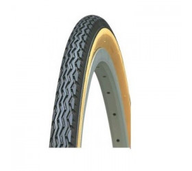 Classic Tyre Kenda 26 x 1 3/8 - Black and Camel