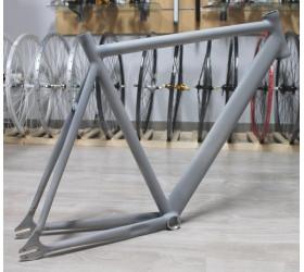 Quadro de Pista em Alumínio com Forquilha