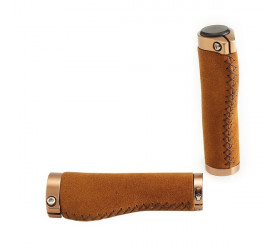 Leather-like Suede Ergonomic Grips
