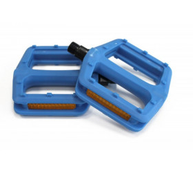 Nylon Blue Pedals