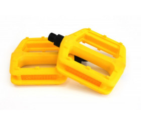 Nylon Yellow Pedals