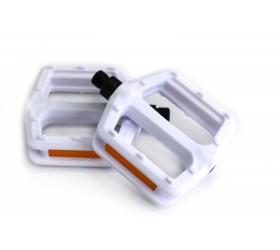 Nylon White Pedals