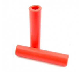 Velo Silicone Grips - Red