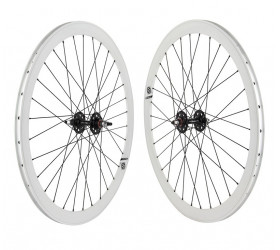 "Origin8 Fixie Wheelset (28"") - White"