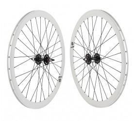 """Origin8 Fixie Wheelset (28"""") - White"""