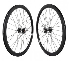 "Origin8 Fixie Wheelset (28"") - Black"
