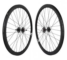 "Origin8 Fixie Wheelset (28"") - Black"