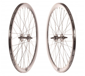 "Wheelset Fixie Origin8 (28"") - Chrome"