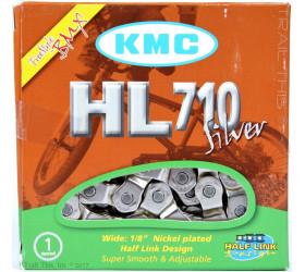 Corrente Meio Elo KMC HL710  (1v) - Cromada