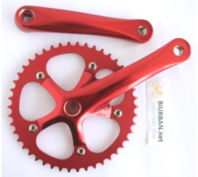 Mighty Crankset - Red