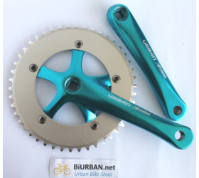 Pro-wheel Urban Crankset  - Blue