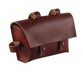 Bolsa de Quadro Vintage - Castanho