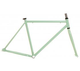 Quadro com Forquilha Kamikaze Fabric-K - Verde Pastel