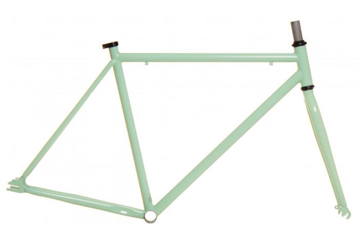 Kamikaze Fabric-K Track Frameset - Pastel Green